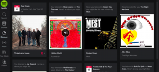 Illustration for article titled Spotify's Deep Black Redesign Makes Your Favorite Music Pop