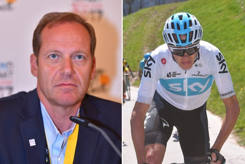 Illustration for article titled Prudhomme won't stop Froome from racing Tour
