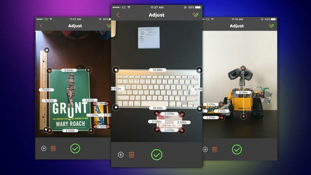 VisualRuler Uses Your Camera to Measure Real World Objects