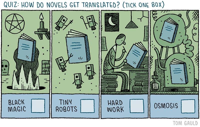 Illustration for article titled How do novels get translated...