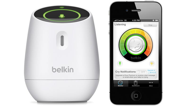 Illustration for article titled Belkin's WeMo Baby Monitor Turns Your iPhone Into a Nanny