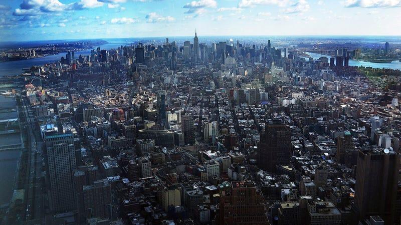 Illustration for article titled Las vistas desde el nuevo WTC de Nueva York son tan espectaculares como antes