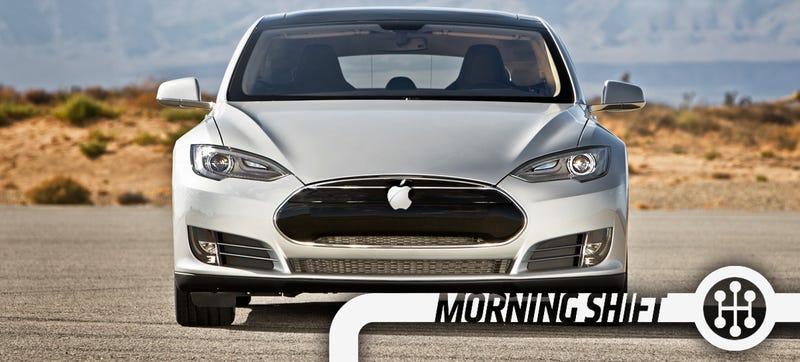 Illustration for article titled No, Apple's Not Just Gonna Buy Tesla For $75 Billion