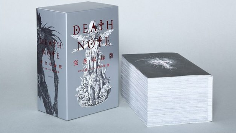 Illustration for article titled A 2,400-Page Edition of the Death Note Manga You Could Beat Someone to Death With