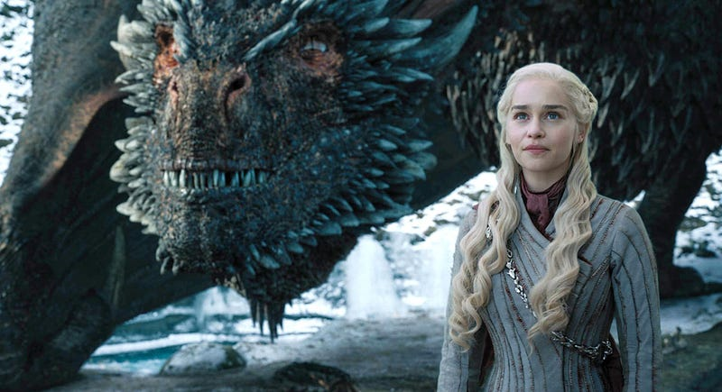 —Miralos, Drogon. Qué enfadados están...