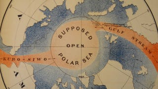 Illustration for article titled The Open Polar Sea, a balmy aquatic Eden at the North Pole?