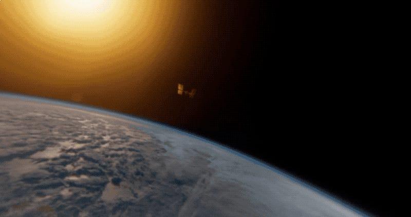 Contempla la Tierra como solo unos pocos lo han hecho en el primer vídeo VR grabado desde el espacio