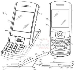 Illustration for article titled New RIM Patents Hint at New Blackberry Form Factors, Advanced Multi-Touch Displays