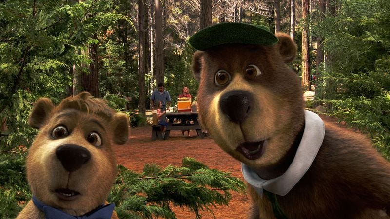 Illustration for article titled Automatons begin assembling Yogi Bear sequel