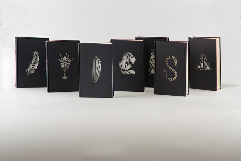 Damn these minimalist editions of harry potter are beautiful for Minimalist book design