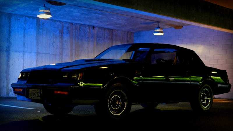Your Ridiculously Sinister Buick Grand National Wallpaper Is