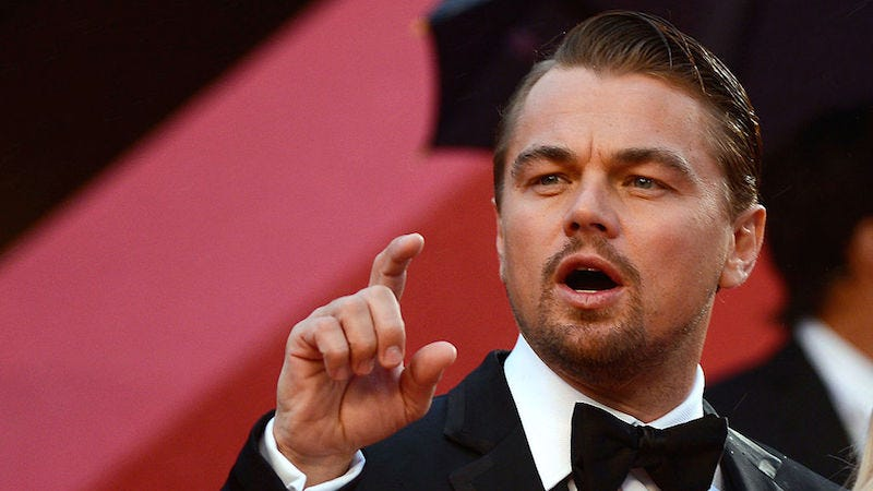 Illustration for article titled The Screenwriter for New Biopic of Sufi Poet and Mystic Rumi Wants to Cast...Leonardo DiCaprio