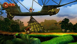 Illustration for article titled Donkey Kong Country Returns Screenshots