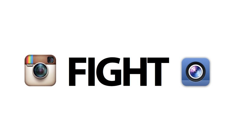 Illustration for article titled Facebook Camera vs. Instagram: Ultimate Mobile Photo Sharing Smackdown