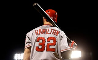 """Illustration for article titled Report: Josh Hamilton Facing """"Disciplinary Issue"""""""
