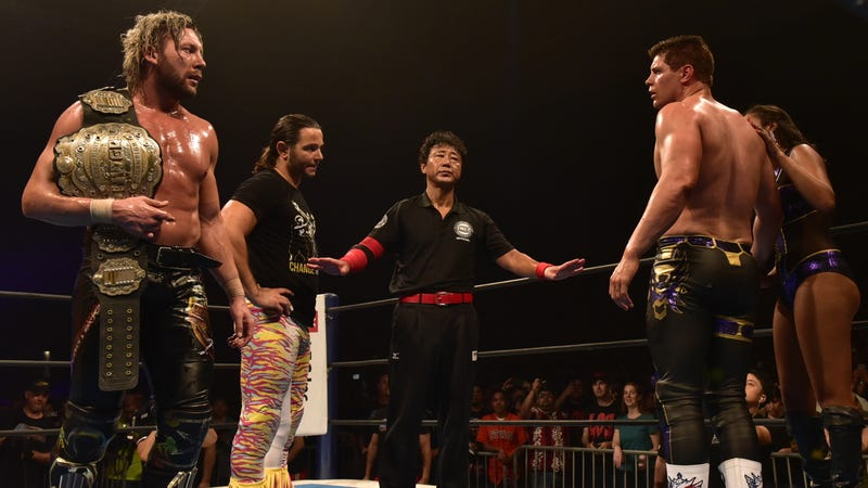 The Elite at NJPW's G1 Special in San Francisco.