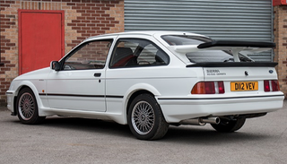 Illustration for article titled number one Ford Sierra RS500 for sale