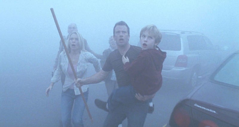 A scene from the 2007 big-screen adaptation of THE MIST.
