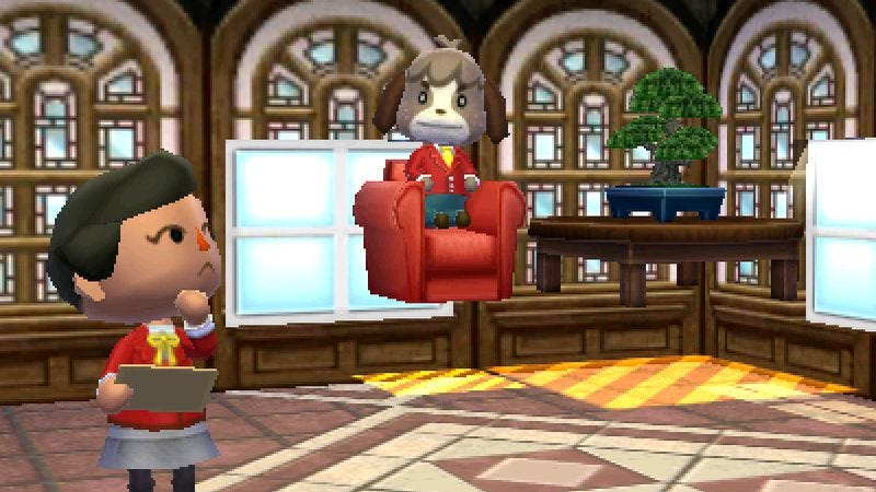 Illustration for article titled Animal Crossing: Happy Home Designer won't judge your decorating quirks