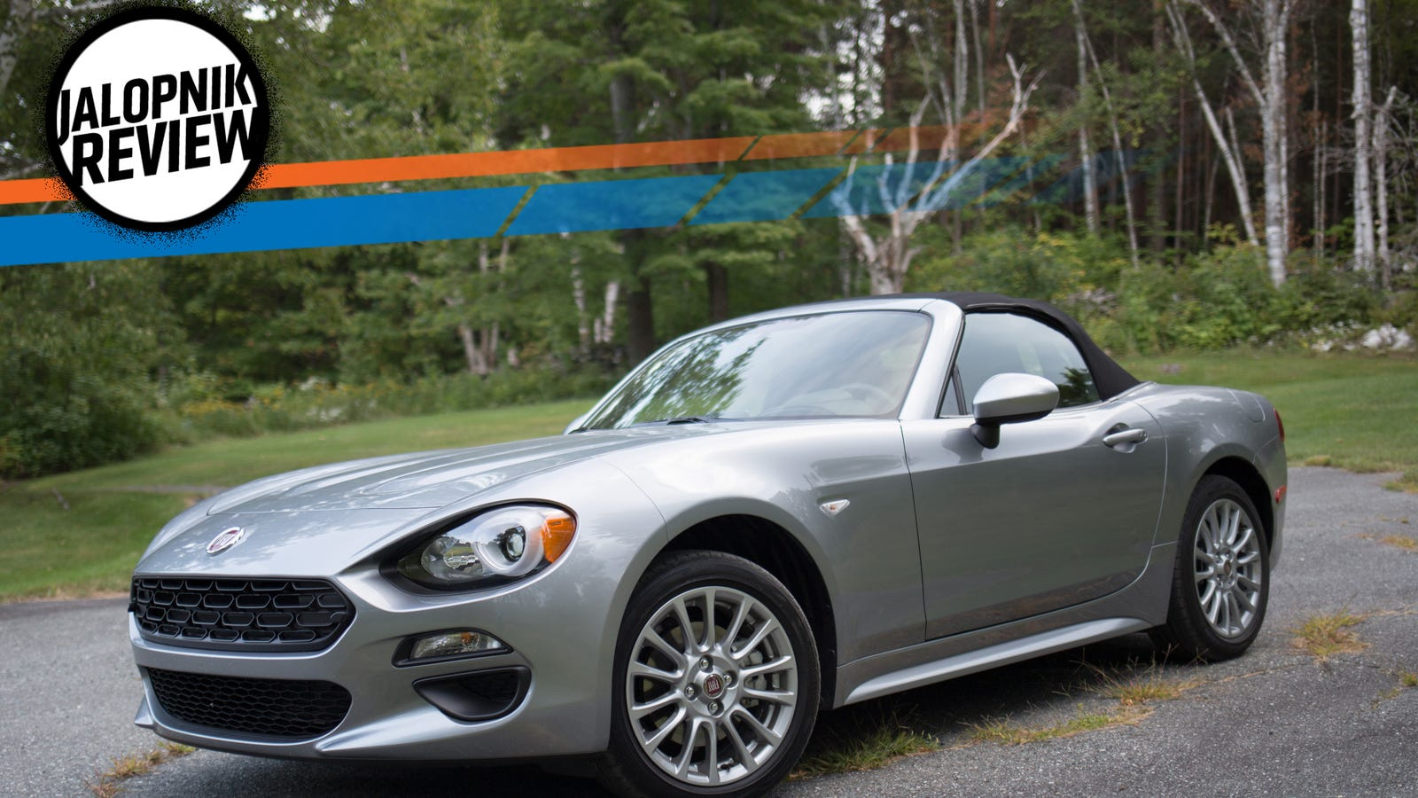 the fiat 124 spider is actually the perfect city car. Black Bedroom Furniture Sets. Home Design Ideas