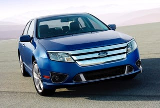 Illustration for article titled 2010 Ford Fusion Revealed With New Face, Engine And Six-Speed Transmission