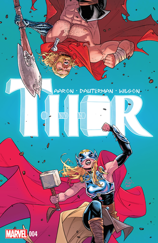 Illustration for article titled Thor #4 Doubles Down on Thors For A Grudgematch of the Gods