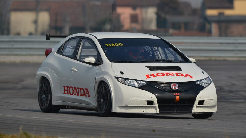 Illustration for article titled Honda's Brand New Touring Car Racer Is This Kickass Civic