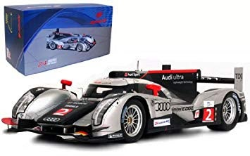 Illustration for article titled Hunting for 1:18 Audi R18