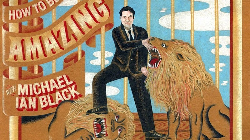 Illustration for article titled Michael Ian Black teaches you How To Be Amazing with an exclusive clip from his show