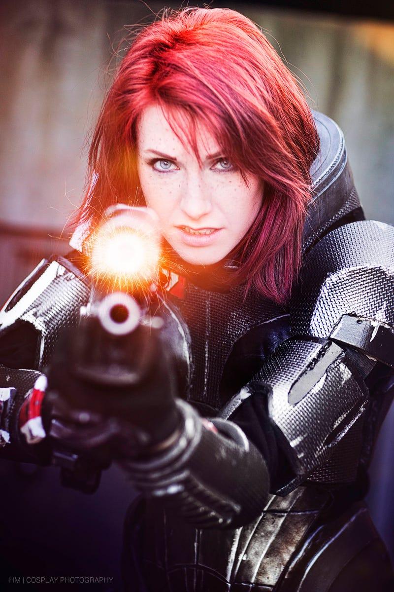 Mass Effect S Commander Shepard Reporting For Duty Kotaku Uk