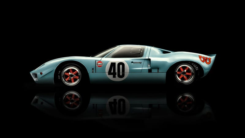 Illustration for article titled Would You Pick Someone Up From The Airport In A GT40?