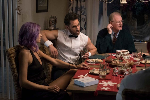 Future Mansettles in for a madcap holiday dinner party-slash-torture session