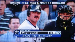 Illustration for article titled Jason Giambi Has Become A '70s Porn King