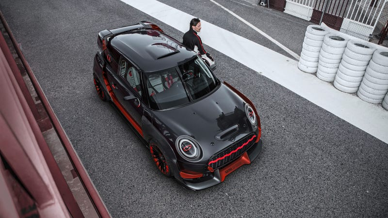 Illustration for article titled The New Mini John Cooper Works GP Concept Is A Ton Of Crazy In A Small Package