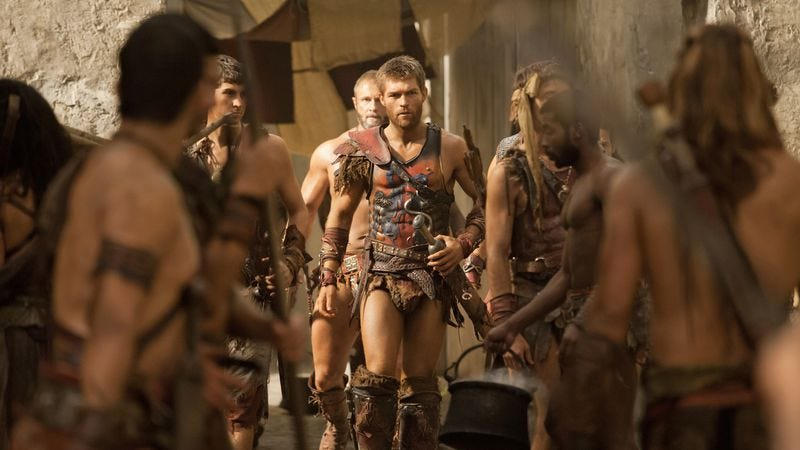 """Illustration for article titled Spartacus: """"Men Of Honor"""""""