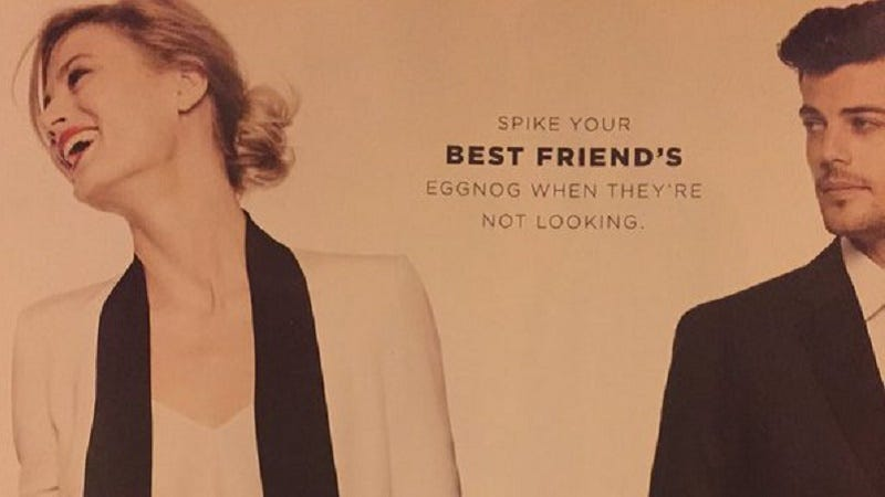 Illustration for article titled Bloomingdale's Apologizes for Maybe Encouraging You to Date Rape Your Friend