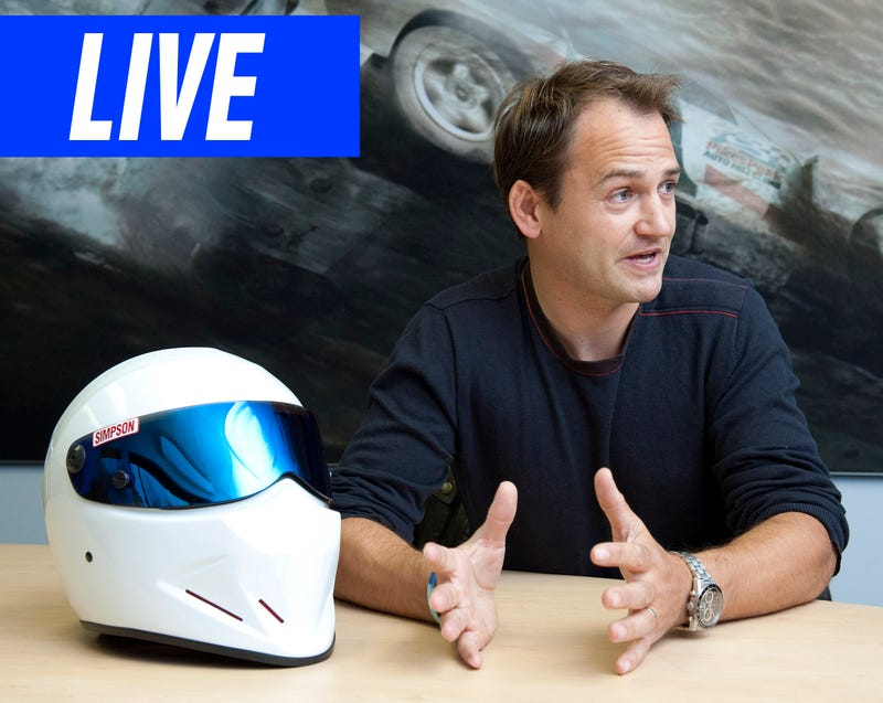 Illustration for article titled Ask Top Gear's Former Stig And Racing Driver Ben Collins Anything You Want