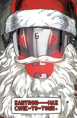 Illustration for article titled The Evil Santas of Science Fiction