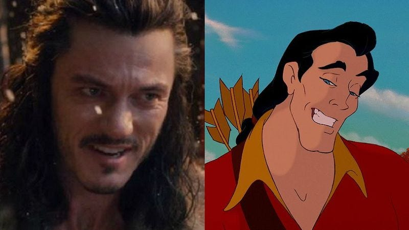 Illustration for article titled Luke Evans to play Gaston in DIsney's live-action Beauty And The Beast