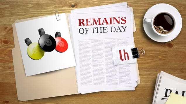 Remains of the Day: Google Cast is Now Built-In to Chrome