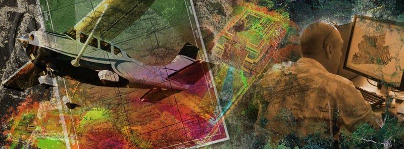 Illustration for article titled Localizan una mítica ciudad perdida en Honduras mediante láser
