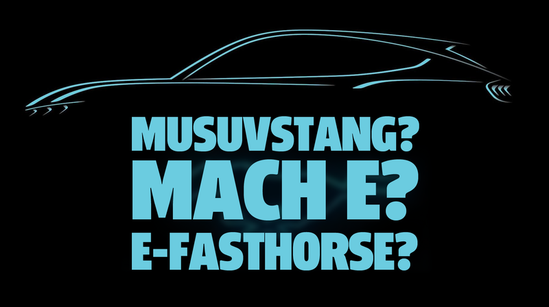 Illustration for article titled What Should Ford Name Their New Electric Mustang-Inspired SUV?