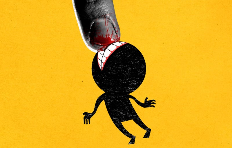 Illustration for article titled Confessions Of A Nail-Biter