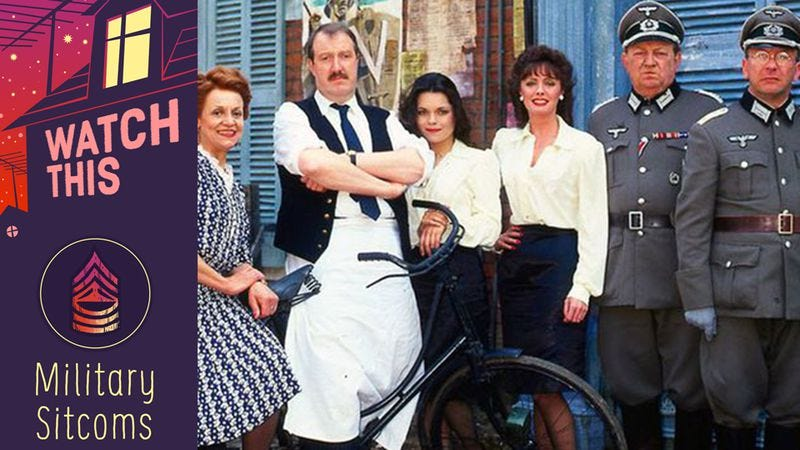'Allo, 'Allo! found unlikely comic success by turning World War II into a  farce