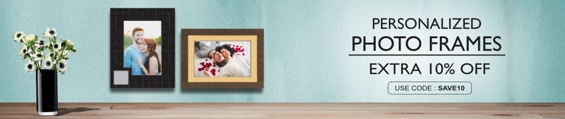 Illustration for article titled Revamp your old photo frames with the new and stunning ones