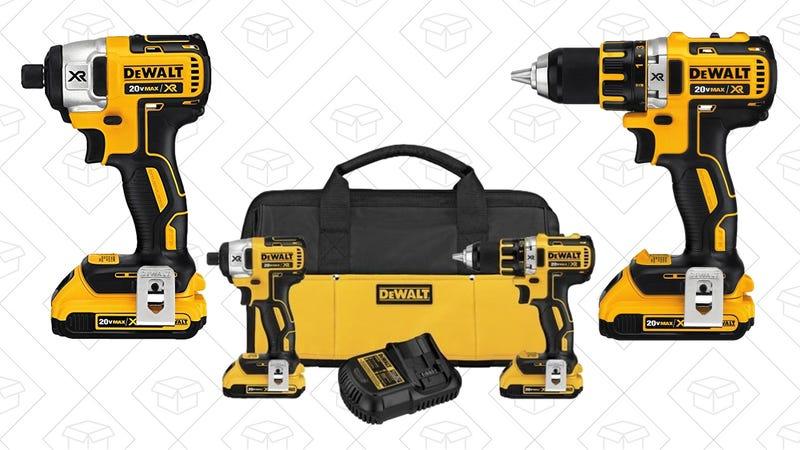 DEWALT Compact Drill/Driver & Impact Driver Combo Kit, $189
