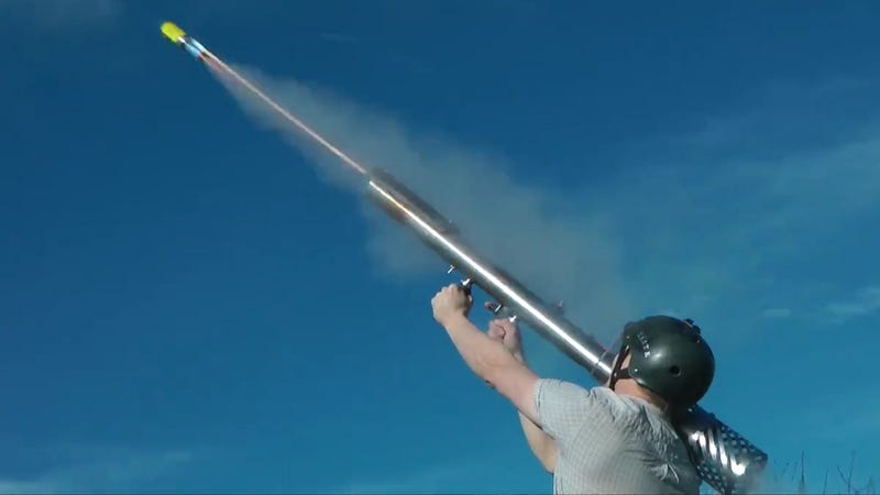 Illustration for article titled This Fireworks Bazooka Will Make Any Holiday Extra Explosive