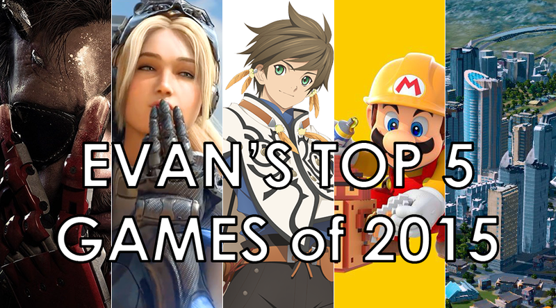 Illustration for article titled Evan's Top 5 Games of 2015