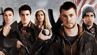 Illustration for article titled First crazy trailer for the Red Dawn remake!