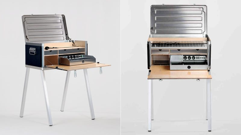 This Portable Desk Is Packed With Power to Keep You Working Anywhere